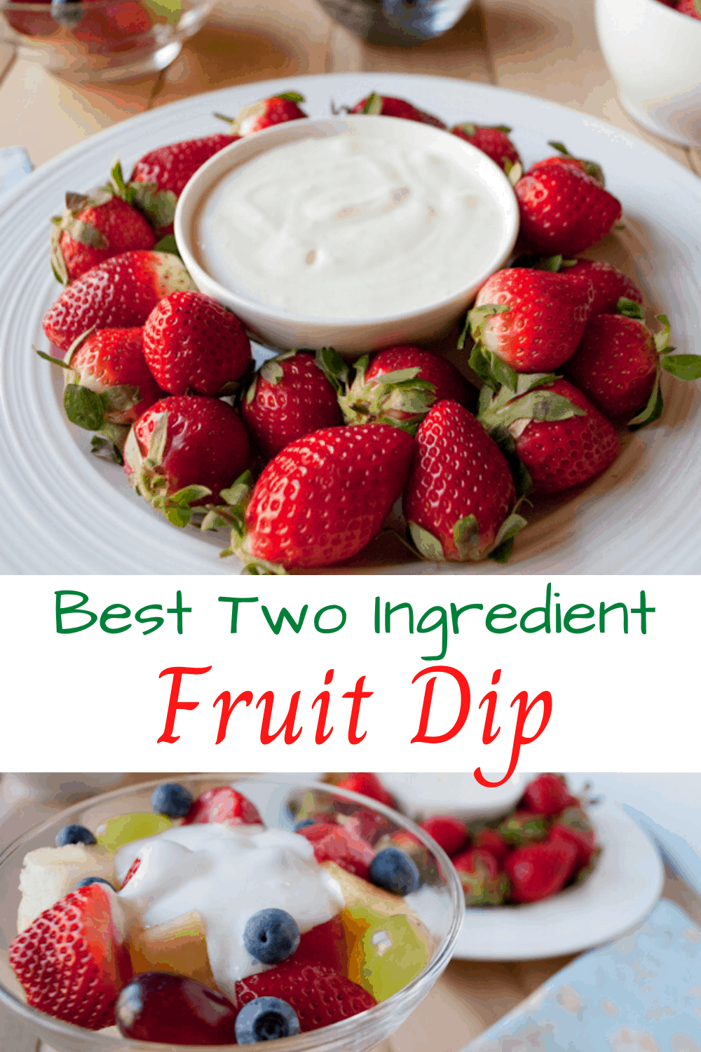 Best Two Ingredient Fruit Dip Savvy Apron Recipe In 2020 Sour Cream Dip Fruit Dip Savory Dessert