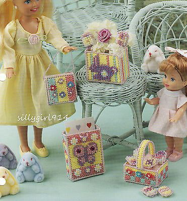 """EASTER ENSEMBLE""~Plastic Canvas PATTERN ONLY for FASHION DOLL"