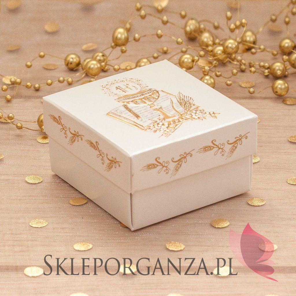 951e0d1fb Dziś prezentujemy eleganckie, tłoczone pudełeczka z motywem kielicha w  wersji złotej oraz srebrnej, które idealnie nadają się na UPOMINKI dla  gości ...