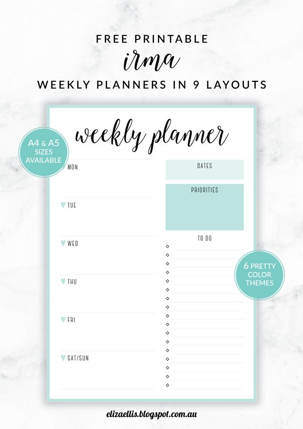 Ultimate Productivity, To Do List Work Printable Planner Pack, 21