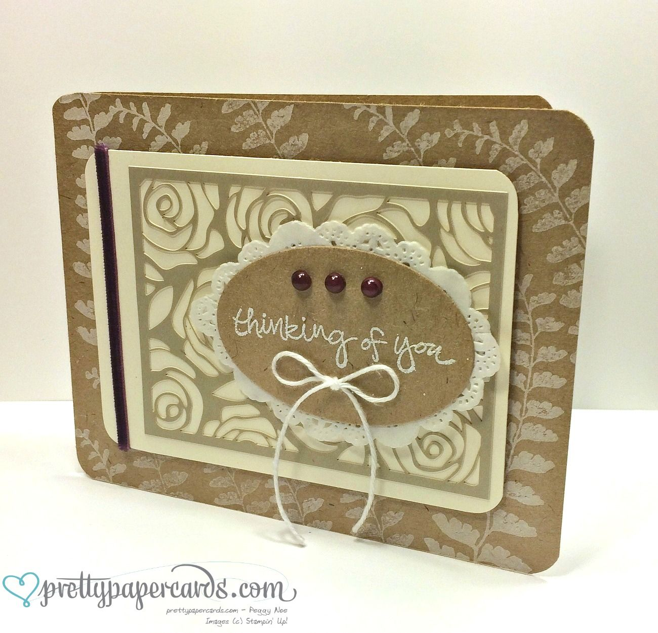 Love this neutral card using artisan kit.