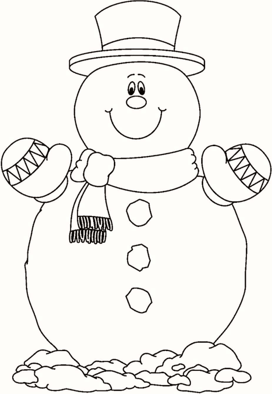 24 Wonderful Picture Of Frosty The Snowman Coloring Pages