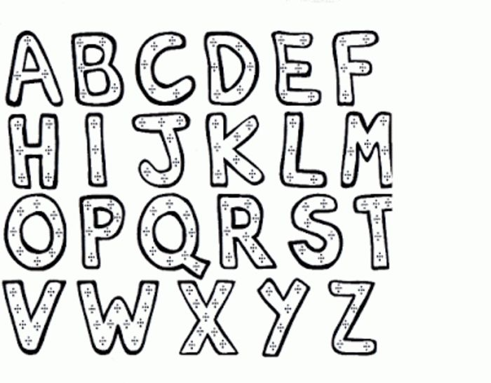 Abc Coloring Pages For Kindergarten Printable Kids Colouring Pages Abc Coloring Pages Lettering Alphabet Letter A Coloring Pages