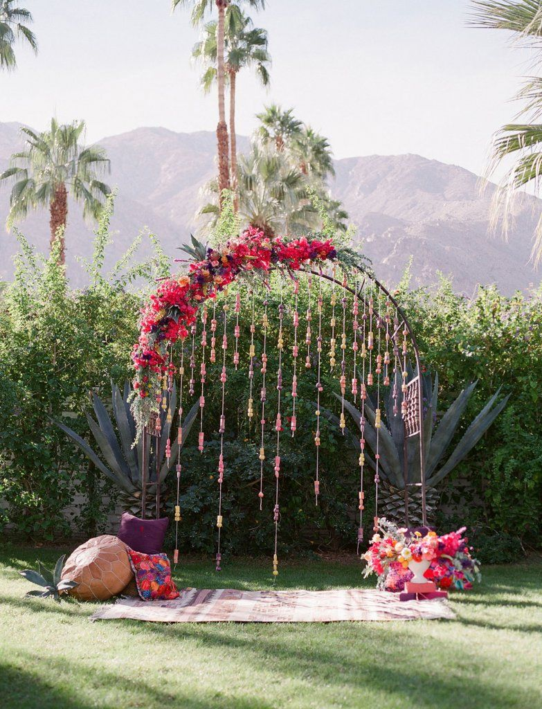 Photo of the Day: May 21 -   18 tropical wedding Arch