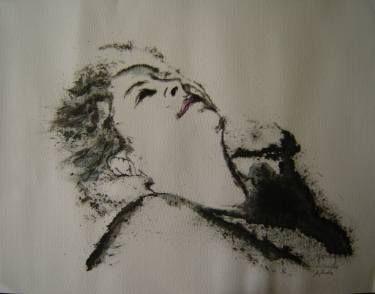 "Saatchi Art Artist Yehouda Morin - YOUD; Painting, ""Aphrodite"" #art"