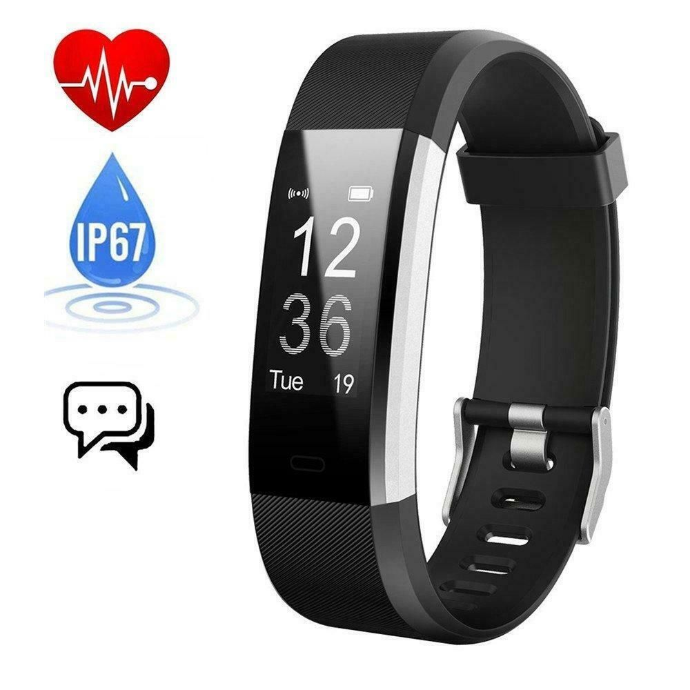 Fitness Tracker with Heart Rate monitor, E3 Activity Watch