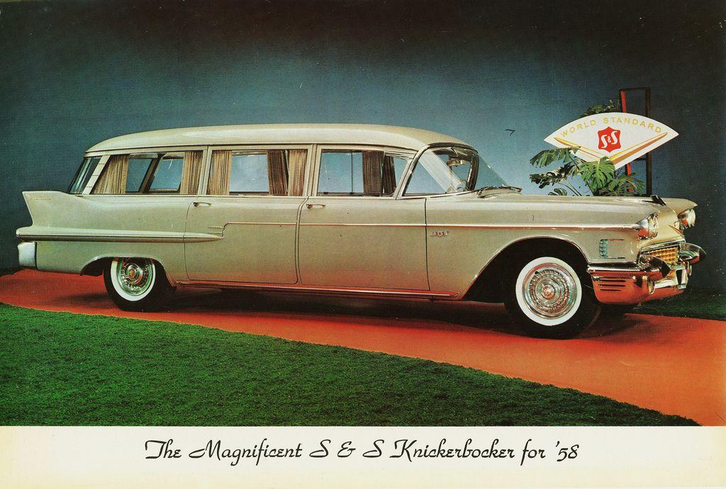 1958 Cadillac S & S Knickerbocker Hearse