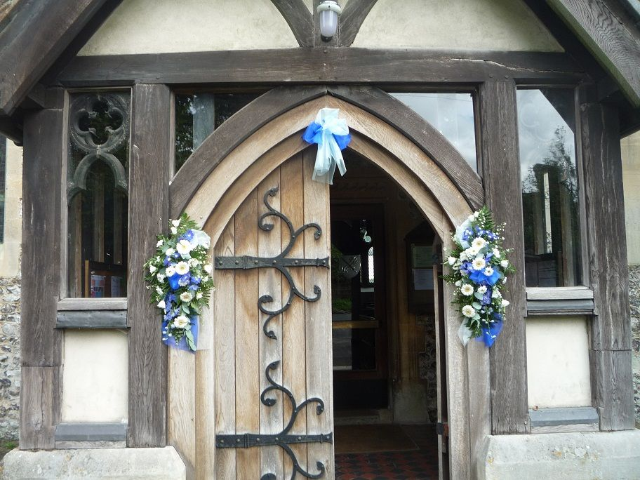 Simple And Elegant Church Door Decorations A Welcoming Entrance