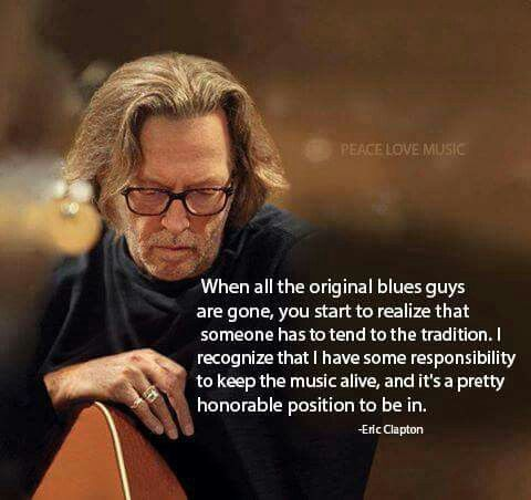 Frases Blues Music Eric Clapton Blues Artists