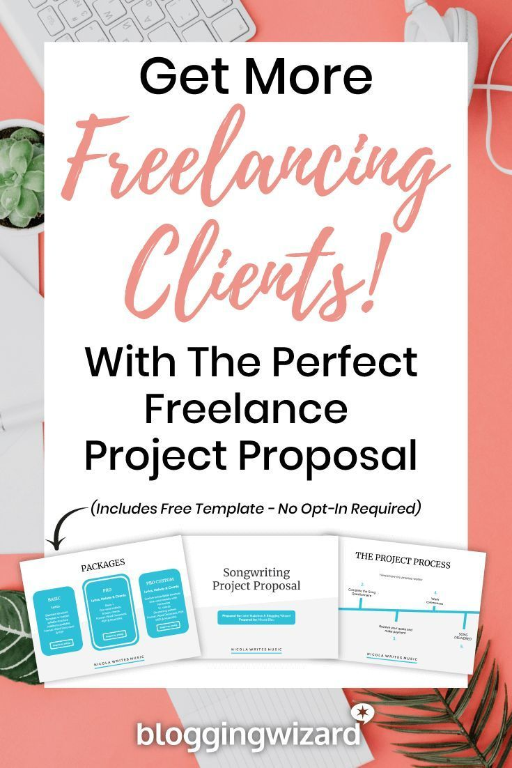 How to create your first freelance project proposal the