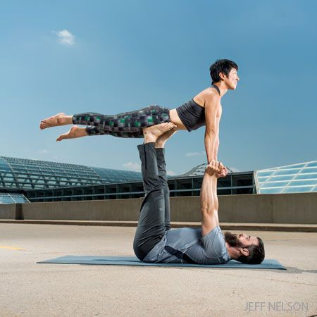 acroyoga 101 a classic sequence for beginners  yoga