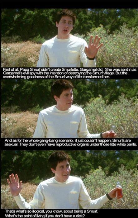 Donnie Darko (smurf) best scene | Favorite movie quotes ...