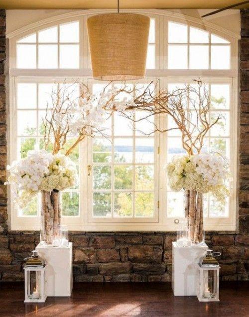 arche mariage 35 belles id es d couvrir pour un mariage r v arche de mariage shabby chic. Black Bedroom Furniture Sets. Home Design Ideas