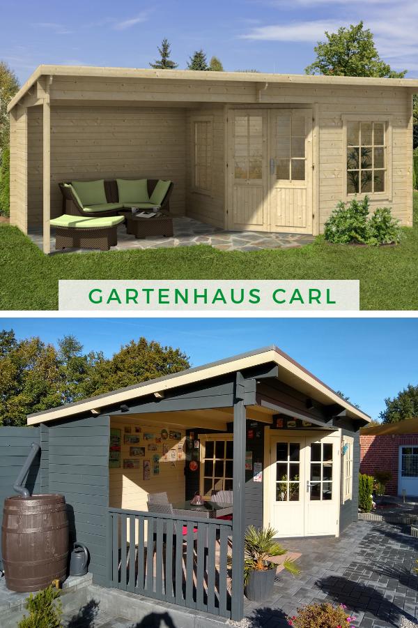Gartenhaus Modell Carl 28 Gartenhaus Pultdach Gartenhaus Anbau Gartenhaus