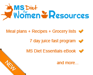 Managing MS Symptoms: Food vs Medication - MS Diet For Women
