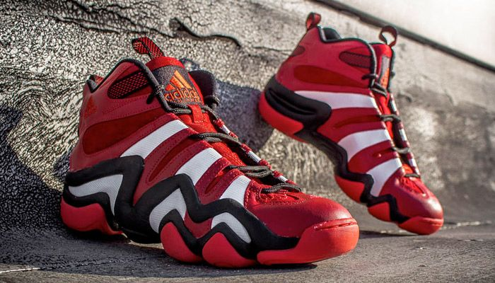bf9bab95a43 adidas Crazy 8 University Red White-Black