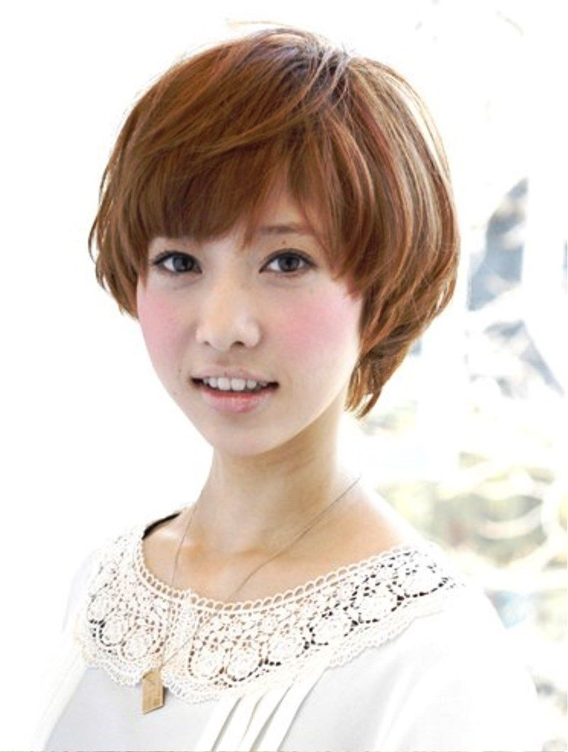 Short Japanese Hairstyle For Girls Japanese Hairstyle Short Hair Model Japanese Haircut