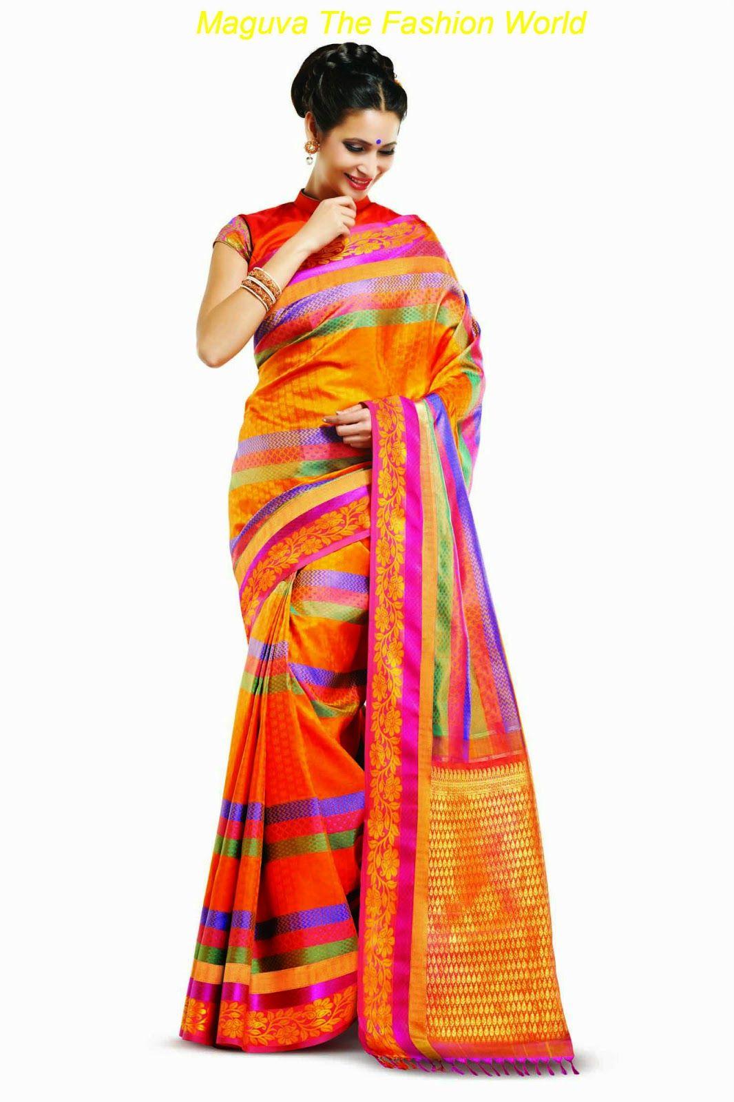 Traditional Wedding Silk Saree From Rmkv Wedding Silks Bridal Wear