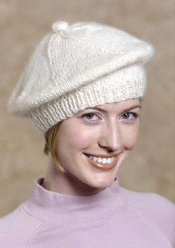 Ravelry Knitted Beret Kim Beret Pattern By Lion Brand Yarn