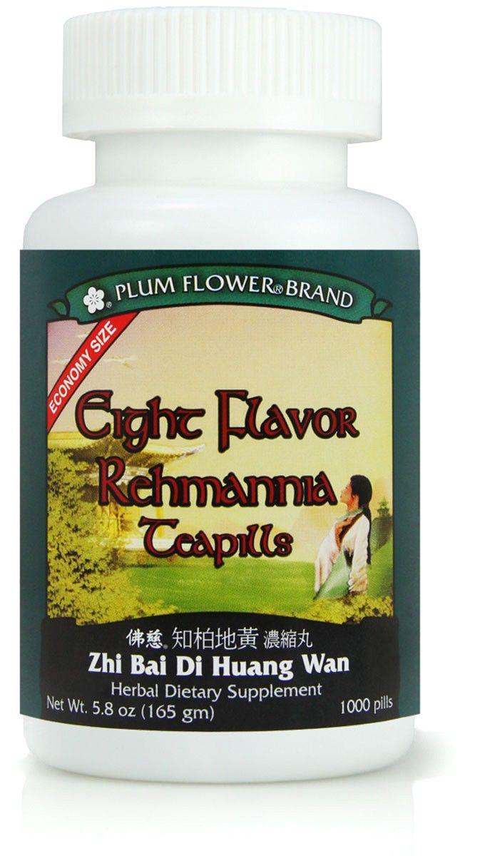 Eight Flavor Rehmannia Teapills, also known as Zhi Bai Di ...