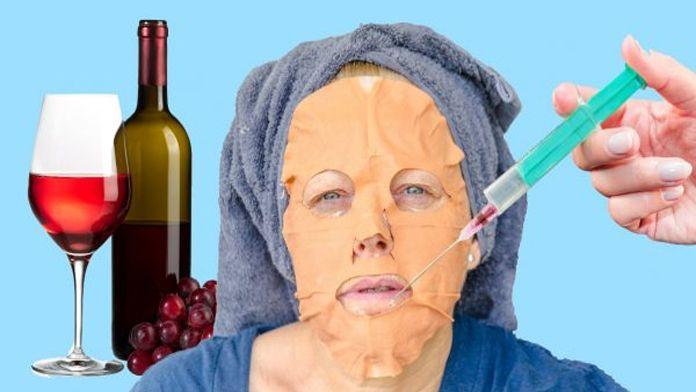 Červené víno – pro kosmetické účely? Vážně? Ano. Někomu, zejména zarputilým vinařům se to snad může zdát jako barbarství. Nedělejte však ukvapené závěry. Ukazuje se, že víno je přímo oživující elixír, pomocí kterého, můžete svou pleť omladit o několik let. Známý plastický chirurg tvrdí, že každodenní kontakt pokožky s vínem …
