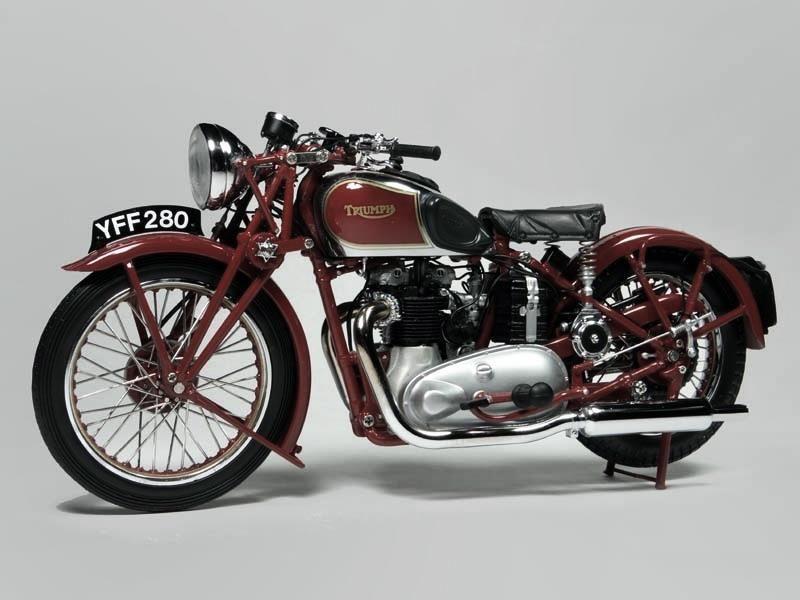 Iron & Air, Ed Turner designed 1937 Triumph Speed Twin ...