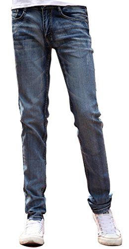 7 For All Mankind Mens Slimy Slim Straight Leg Jean in Midnight River