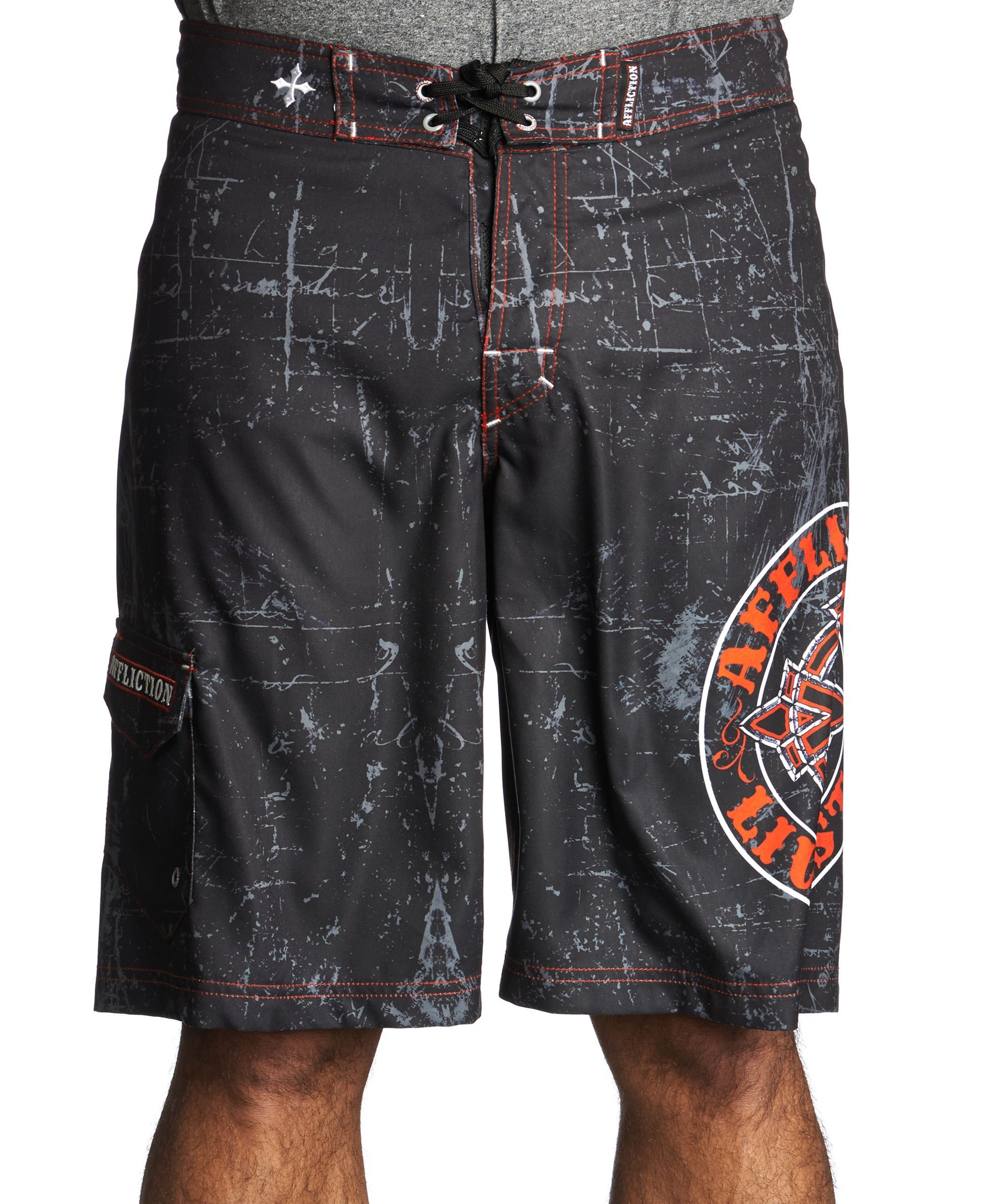 a3189c5ded Affliction Royal Chromatic Board Shorts Mens Boardshorts, Shorts Online,  Swimwear, Swimsuits, Bathing