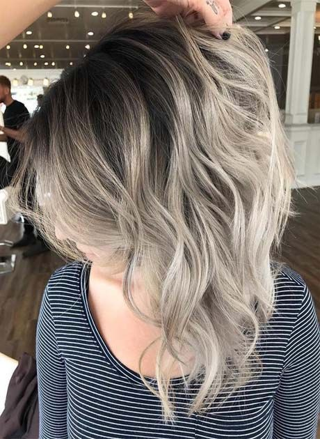 Spring Highlight Ideas for Short Hair 2018-2019 | Latest Fashion Trends - Hottest Hairstyles Ideas Inspiration #ashblondebalayage