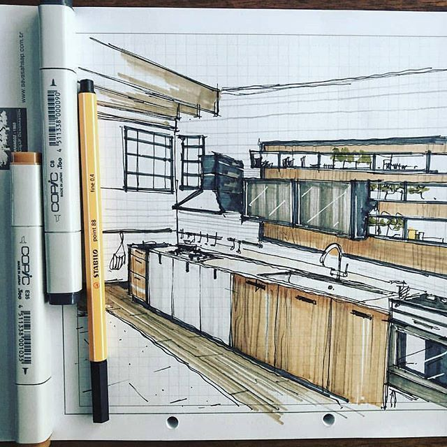 _ • TAG YOUR ARCHITECTURE FRIENDS TO SEE THS WORK  by @burakdindar_  . #architecture #arquitectura  #sketch  #scetch  #design  #art . • Follow @arch_cad for more daily sketchs . #sketchbook ✏❤