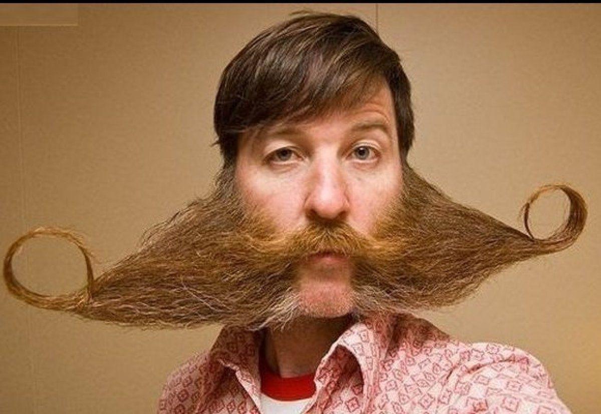 Weird Facial Hair Styles: Mustache*gotee*beard*&*like