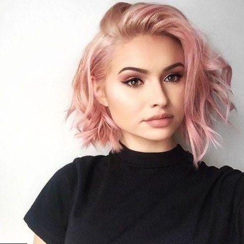 rose gold hair color hair in 2018 pinterest cheveux. Black Bedroom Furniture Sets. Home Design Ideas