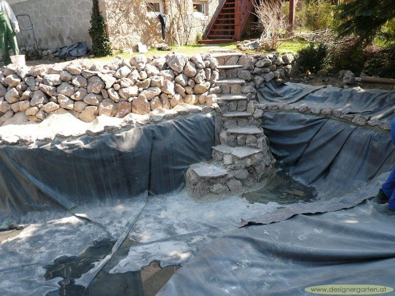 Grumer Gartengestaltung » Photo Gallery » Naturpool, Schwimmteich ... 15 Designs Wasserfall Swimming Pool