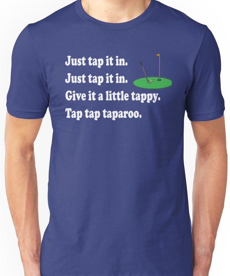 Happy Gilmore Quote Just Tap It In Essential T Shirt By Movie Shirts Happy Gilmore Quotes Movie Shirts Shirts