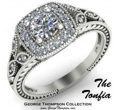The Tonfia engagement ring