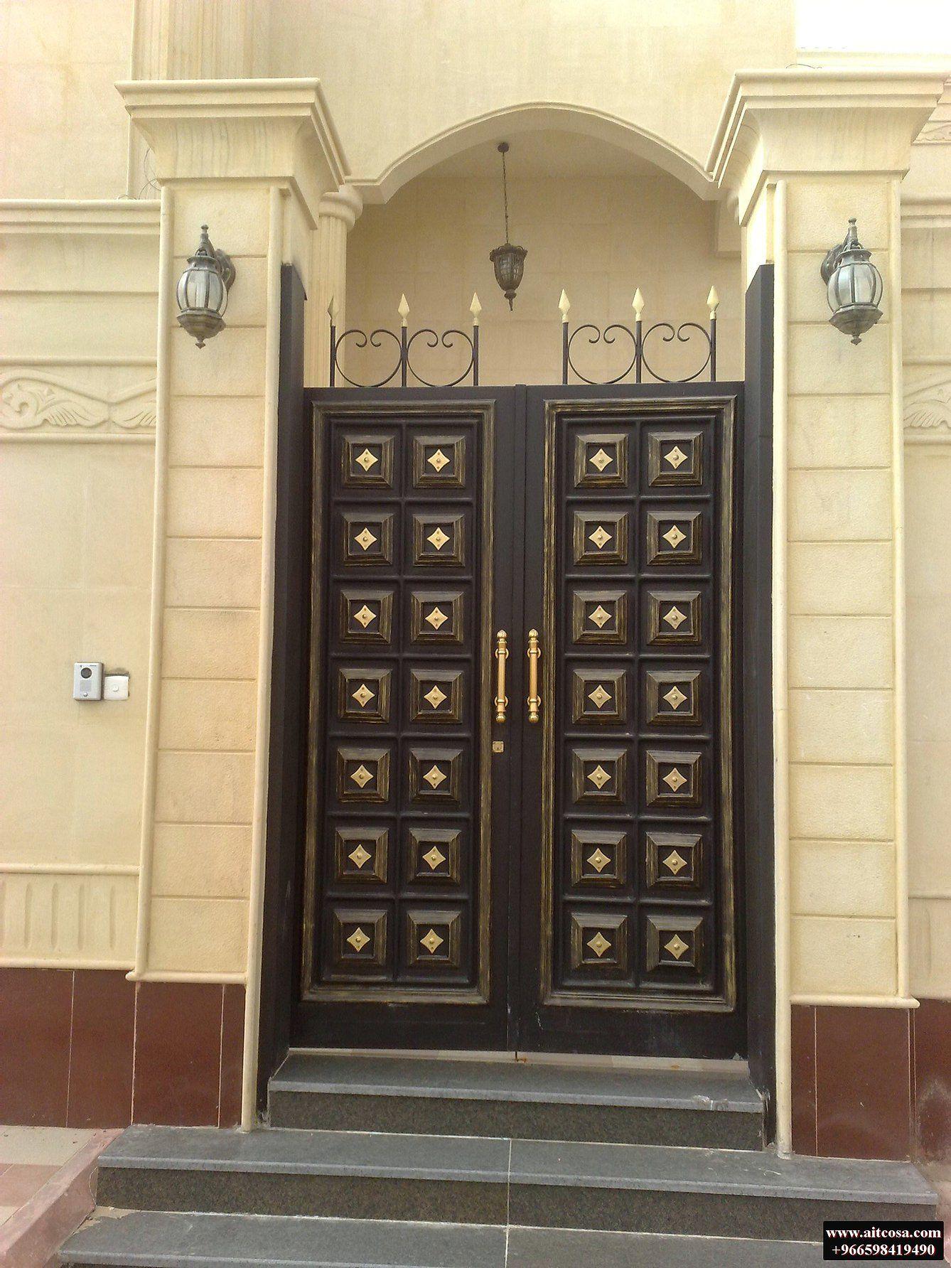 Pin By Ro Boyte On ابواب خارجية Gate Design Compound Gate Design Front Gate Design