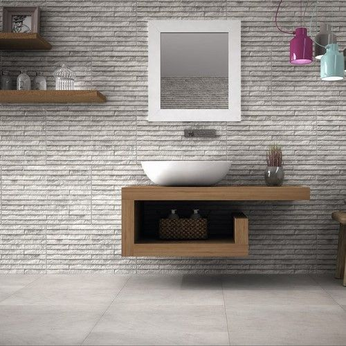 Yosemite Grey Split Face Wall Tile From Tile Mountain Only Per Tile Or Per  Sqm. Order A Free Cut Sample, Dispatched Today   Receive Your Tiles Tomorrow