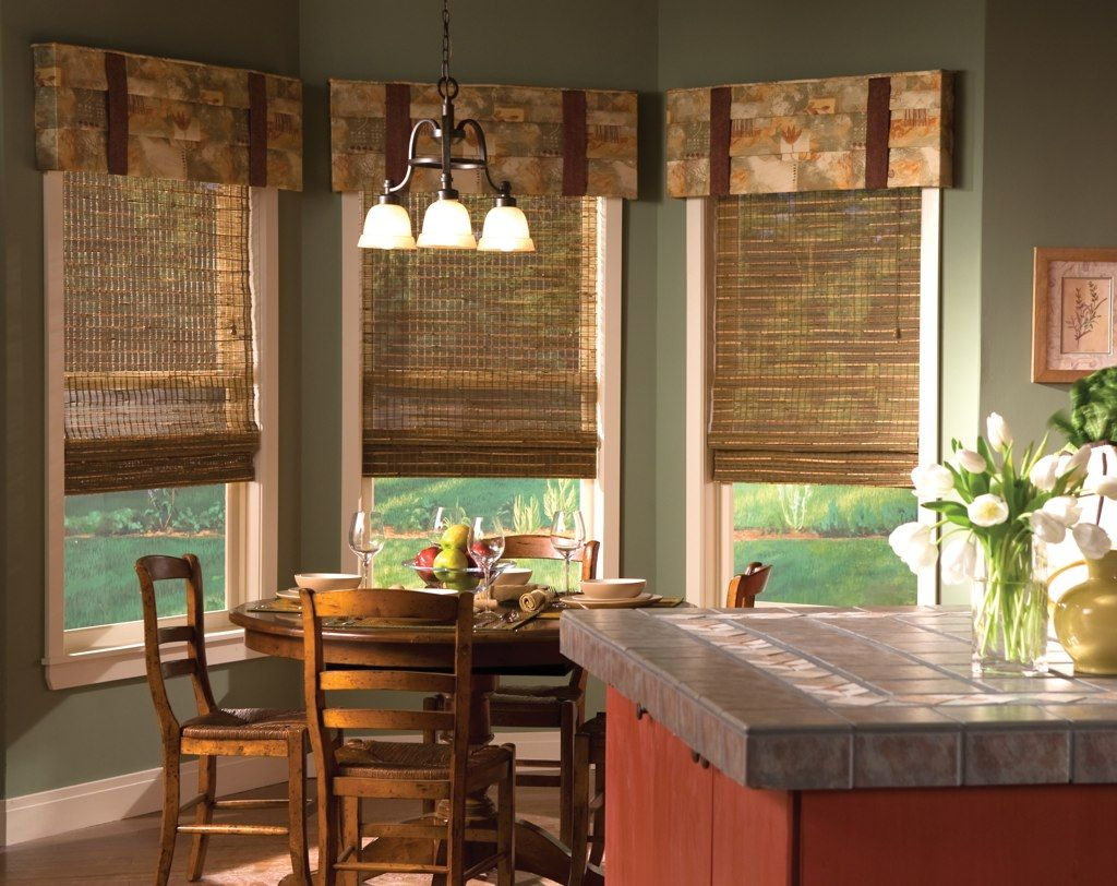 Pictures of window treatments - Window Treatments For A Completed Room Design
