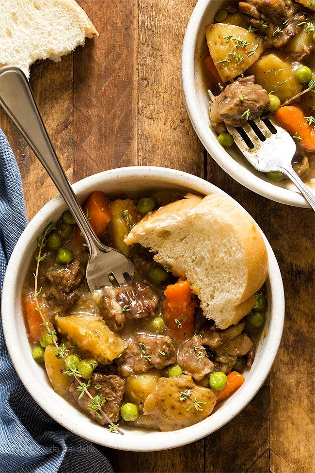 Stovetop Beef Stew For Two (Dinner For Two) (Chocolate Moosey) images