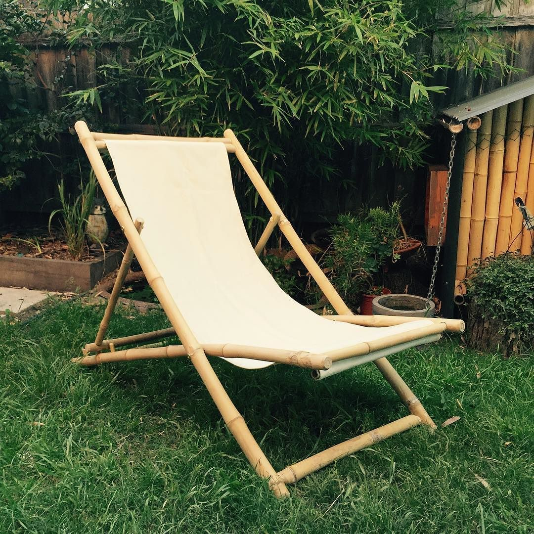 Finally #bamboo deck chair is complete. Deck chair making #workshop announcement coming tomorrow.