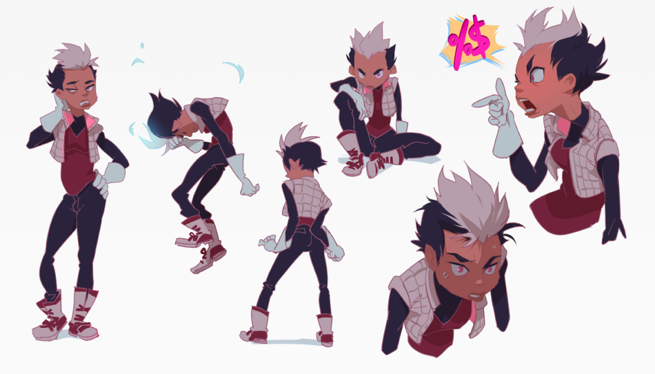 Character Design Monthly : John sandoval ★ character design references