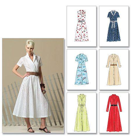 Misses'/Miss Petite Dress In 2 Lengths and Bias Sash