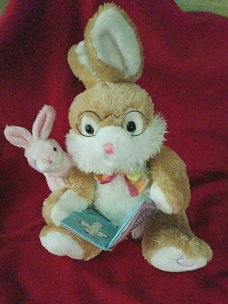 Dan-Dee Easter Bunny Plush The True Story of Easter Talking Rabbit   #DanDee #bunnyplush