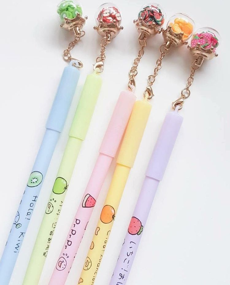 Adorable Rose Gold Bow Pen Cute Back to School Office Supplies