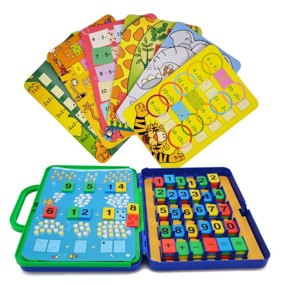 Educational Toys Number Counting Card Math Game Children ...
