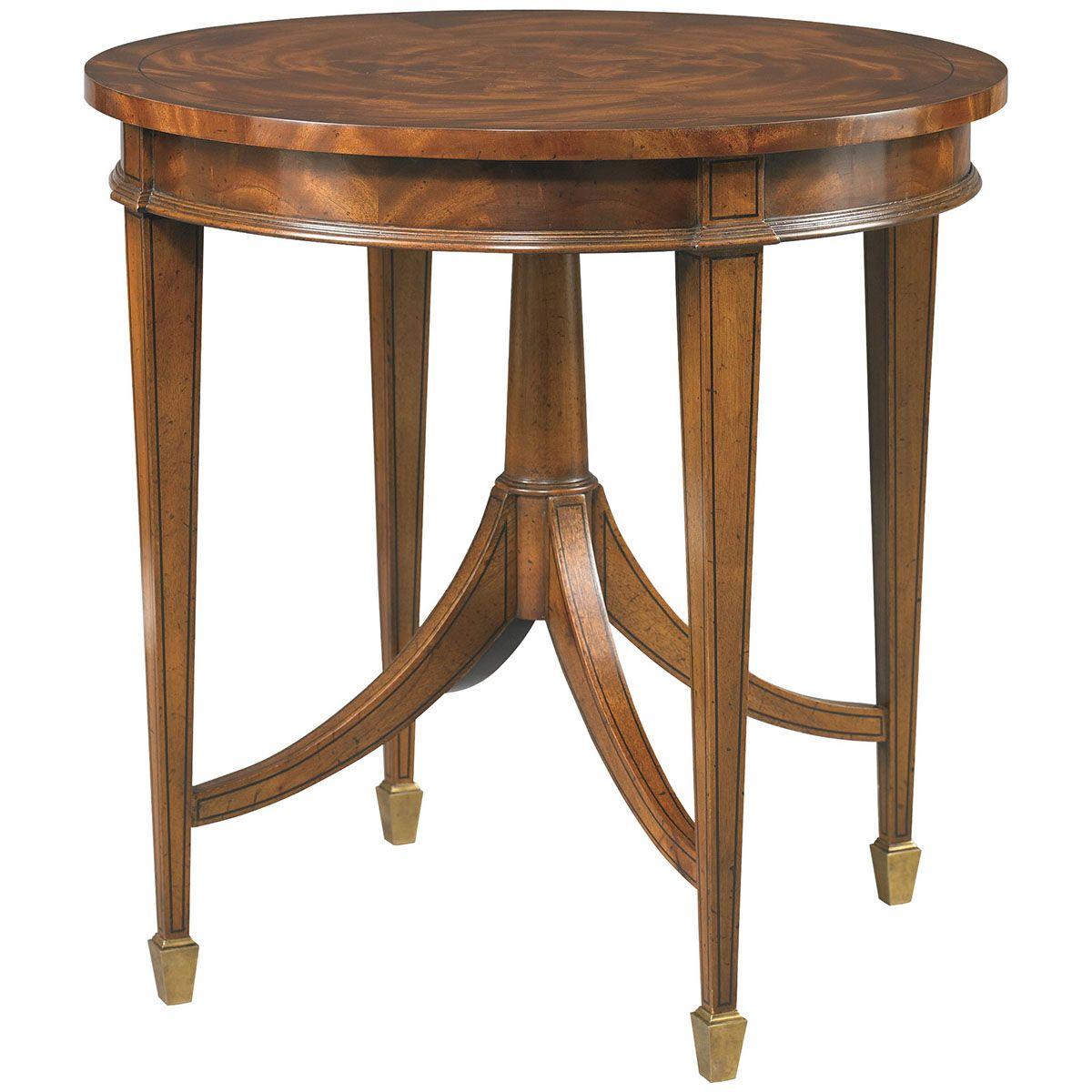 Hickory White Round End Table 893-25 | Hickory White | Pinterest ...