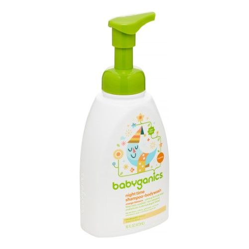 Babyganics Baby Shampoo Body Wash Orange Blossom 16 Fl Oz 3
