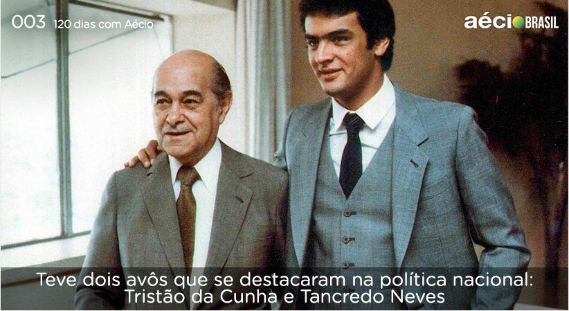 Experiencia vem de berço. #AecioNeves #VamosMudarOBrasil #CoragemParaAvancar http://120diascomaecio.tumblr.com/