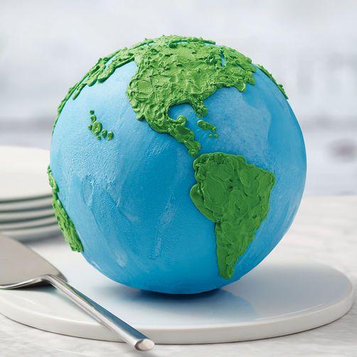 Rosanna Pansino Planet Earth Ball Cake In 2019 Earth
