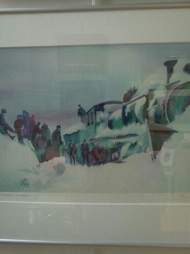 Snow train -  L. FOLEY